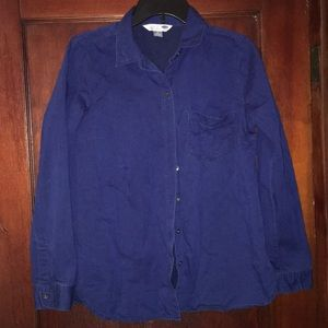 Old Navy LS Chambray button down